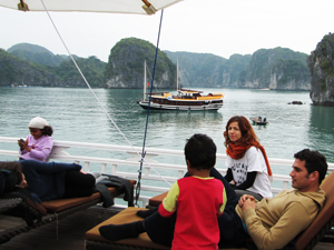 eco friendly boat ha long 5
