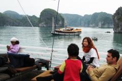eco friendly boat ha long 5