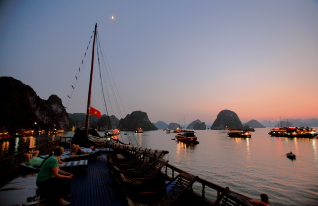 Ha Long evening