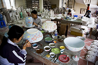 Pottery_village_Mekong