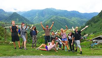 Sapa_trekking_group