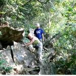 Trek in Cat Ba national park